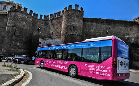 Rome Hop-On Hop-Off Museum Express Bus Tickets