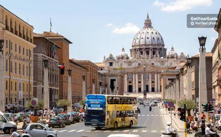 Roma Cristiana Hop-On Hop-Off Bus 24-Hour or 48-Hour Ticket