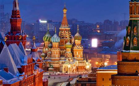 Moscow: 2-Hour Historic Center Tour in Spanish