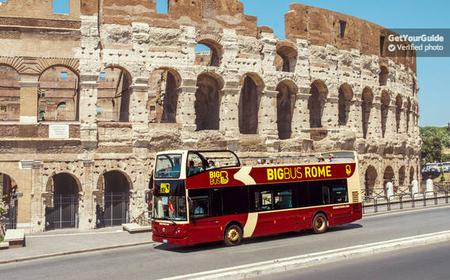 Rome: Hop-On and Hop-Off Big Bus Sightseeing Ticket