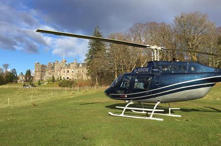 City Of Edinburgh Helicopter Tour