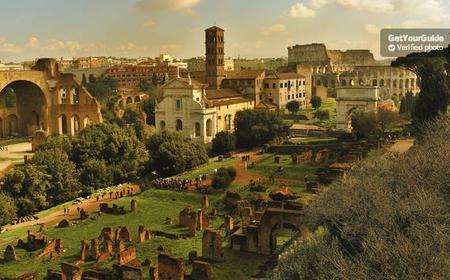 Colosseum, Pantheon, Roman Forum, Fountains & Piazzas
