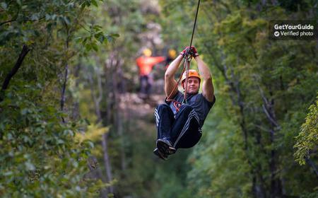 Omiš: 3-Hour Zipline over Cetina Canyon