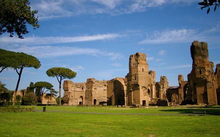 Rome: Baths of Caracalla Private Tour