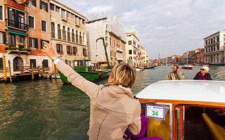 Venice: 2-Hour Boat Tour with Grand Canal & Tower Climb
