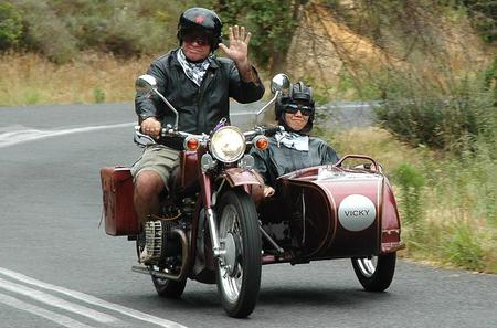 Full-Day Cape Coastal Whale Route by Vintage Motorbike Sidecar from Cape Town