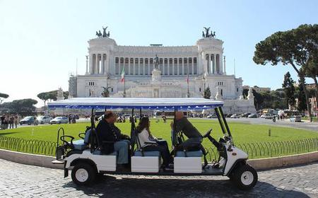 Rome Guided Golf Cart 3-Hour Tour