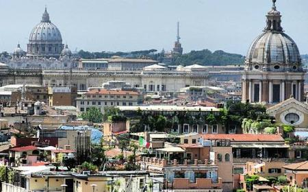 Rome: The Great Beauty Location Sites Private Bike Tour