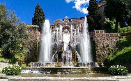 Tivoli Day Tour with Hadrian's Villa & Villa d'Este