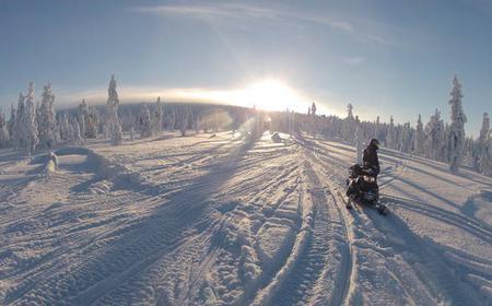 Rovaniemi: Snowmobile safari to the Wilderness Lodge