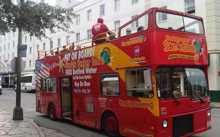 San Antonio Hop-on Hop-off Bus Tour: 24 or 48-Hour Pass