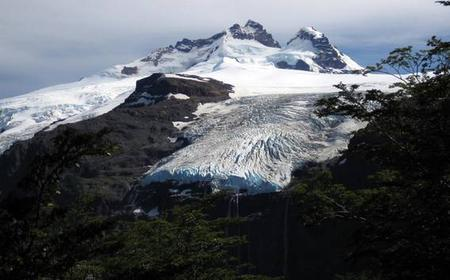 Mount Tronador and the Black Glacier from Bariloche