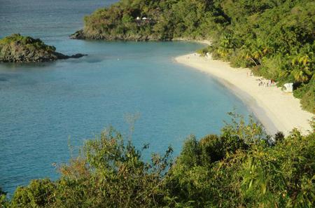 St John Island and Trunk Bay Beach Tour