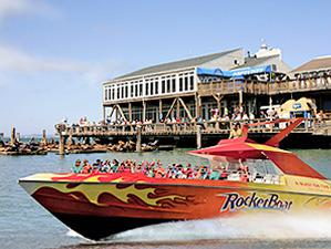 San Francisco Bay Rocket Boat Tour