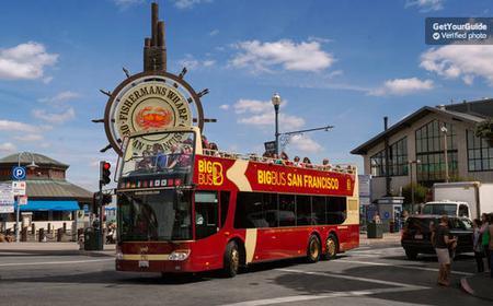 San Francisco Hop-On Hop-Off Bus: 24, 48, 72-Hour Pass