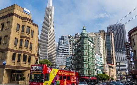 San Francisco Hop-On Hop-Off 24-Hour Bus Pass