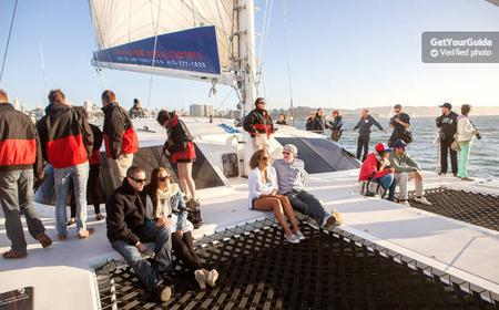 San Francisco Bay Sunset Cruise by Luxury Catamaran