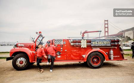 San Francisco Bay: 90-Minute Fire Engine Tour