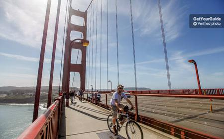 Cycle The Golden Gate Bridge and Alcatraz Ticket