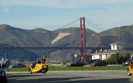 Alcatraz & 2-Hour GoCar Golden Gate Bridge for 2 People