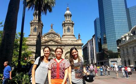 Santiago: 3-hour Guided Cultural Bike Tour