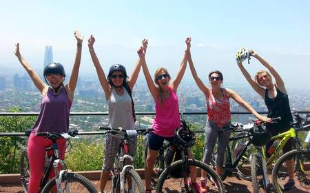 Santiago: San Cristobal Hill Mountain Bike Tour