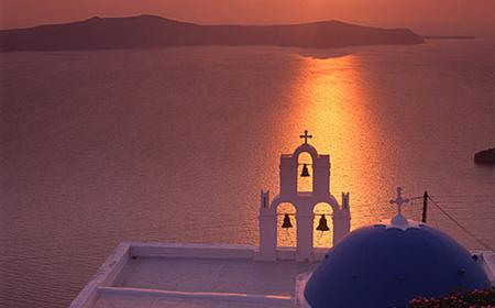 From Santorini: Volcano Island Tour & Oia Sunset Cruise