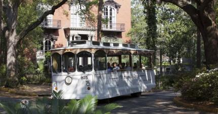 Hop-On, Hop-Off Historic Savannah Full-Day Trolley Tour
