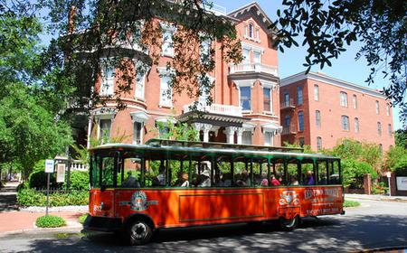 Hop-On Hop-Off Trolley Tour of Savannah Old Town