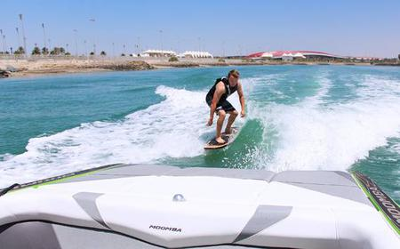 Wake Surfing: Improve your Surfing Skills (Boat w/o rope)