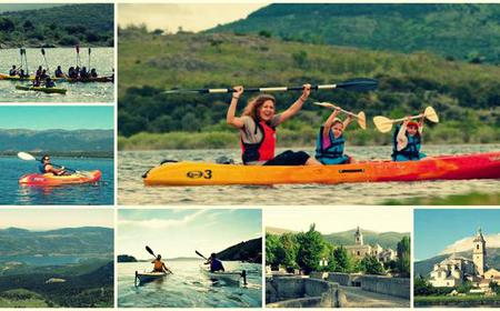 Mountain Lake Canoe Experience from Madrid