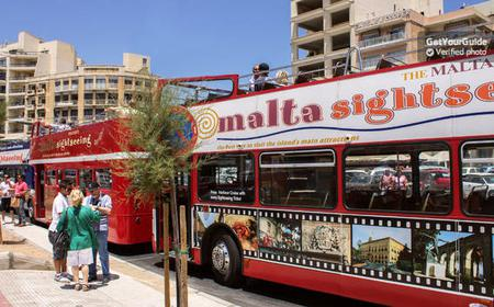 Hop-On Hop-Off Malta Bus Tour