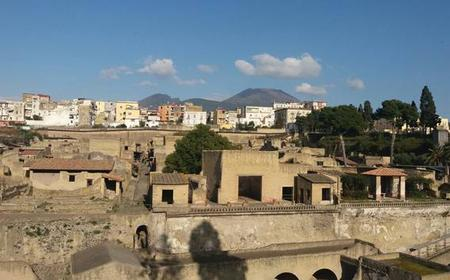 From Naples: 3-Hour Ruins of Herculaneum Art & Food Tour