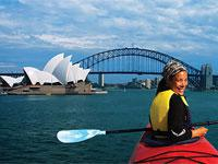 Sydney Harbour Bridge Lunch Kayaking Adventure