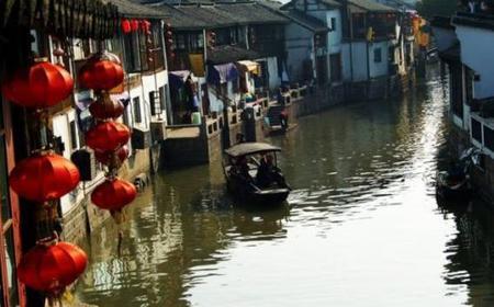 Zhujiajiao Water Town & Huangpu River Cruise