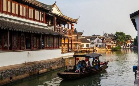 Zhujiajiao Water Town & Jade Buddha Temple Private Tour