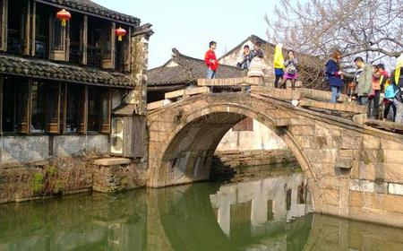 Suzhou Garden & Water Town Private Tour from Shanghai