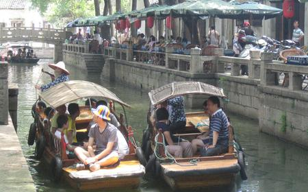 Guided Walking Tour of Tongli Water Town