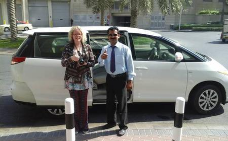 Dubai Private 4 hours Tour with Car and Driver