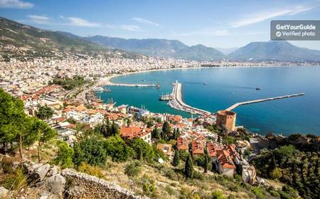 Alanya city tour with Banana garden, Castle & Boat tour