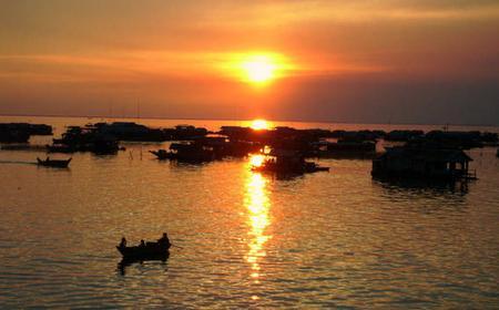 Sunset Dinner Tour on Tonle Sap Lake Floating Village