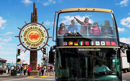 1 Day San Francisco Big Bus Hop-On, Hop-Off Tour