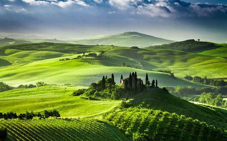 Montalcino, Pienza & Montepulciano Food Tour from Siena