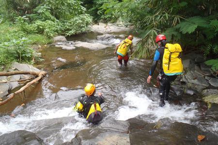 Trekking & Canyoning at Tukad Hijau
