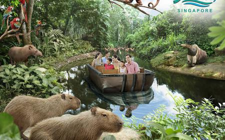 Singapore: River Safari and Night Safari Expedition