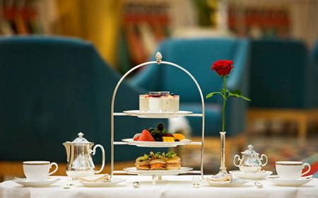 Ultimate Afternoon Tea at Sahn Eddar