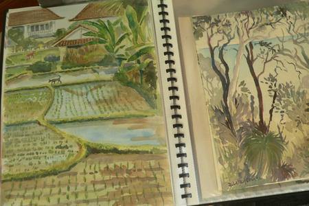Traditional Balinese Painting Workshop in Ubud