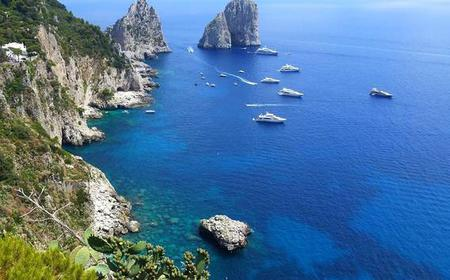 Discover Capri by Boat: Small Group Tour from Sorrento