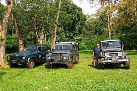 Jeep & Cycling Tour in Tropical Nature