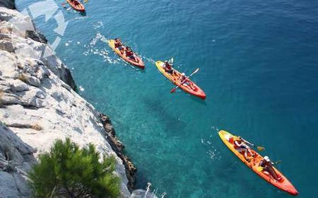 Sea Kayak & Snorkel in Brela: Full-Day Tour from Split